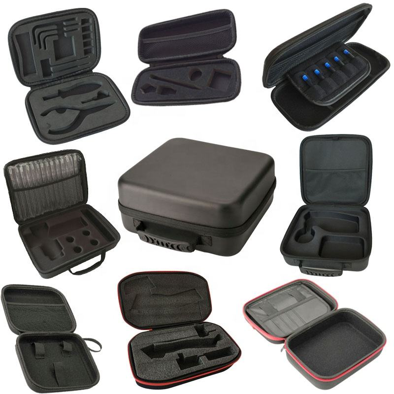 Professional Manufacturer Factory Customized Shockproof Portable Protective Storage Hard Carry Tool Case EVA Case