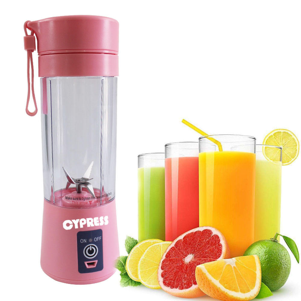 2019 hot sale portable USB charger blender 6 blender fruit mixer baby food mixer