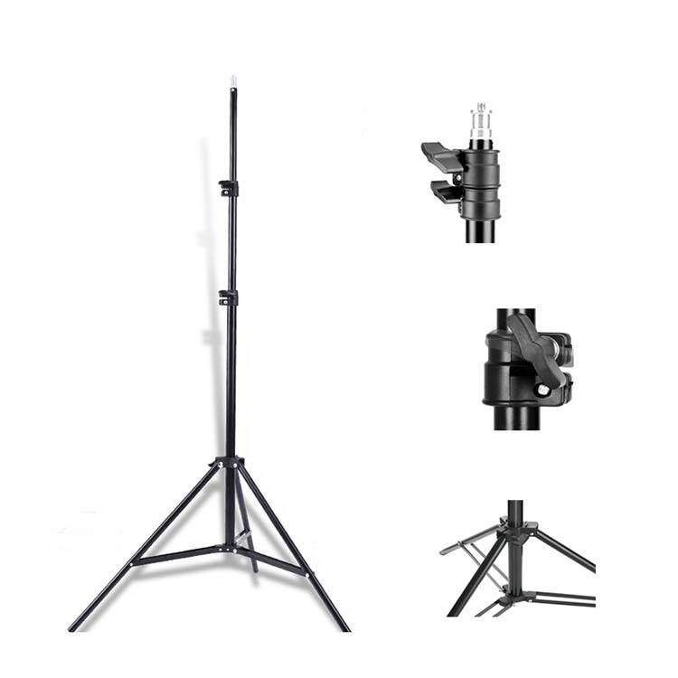 4ft / 120cm Air-cushion Aluminum Stand Photographic Equipment Flash Light Stand for Studio Video Pgotography