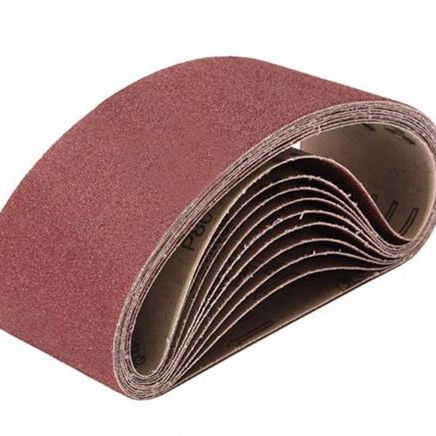 aluminum oxide abrasive sanding belt for polishing metal/glass/diamond