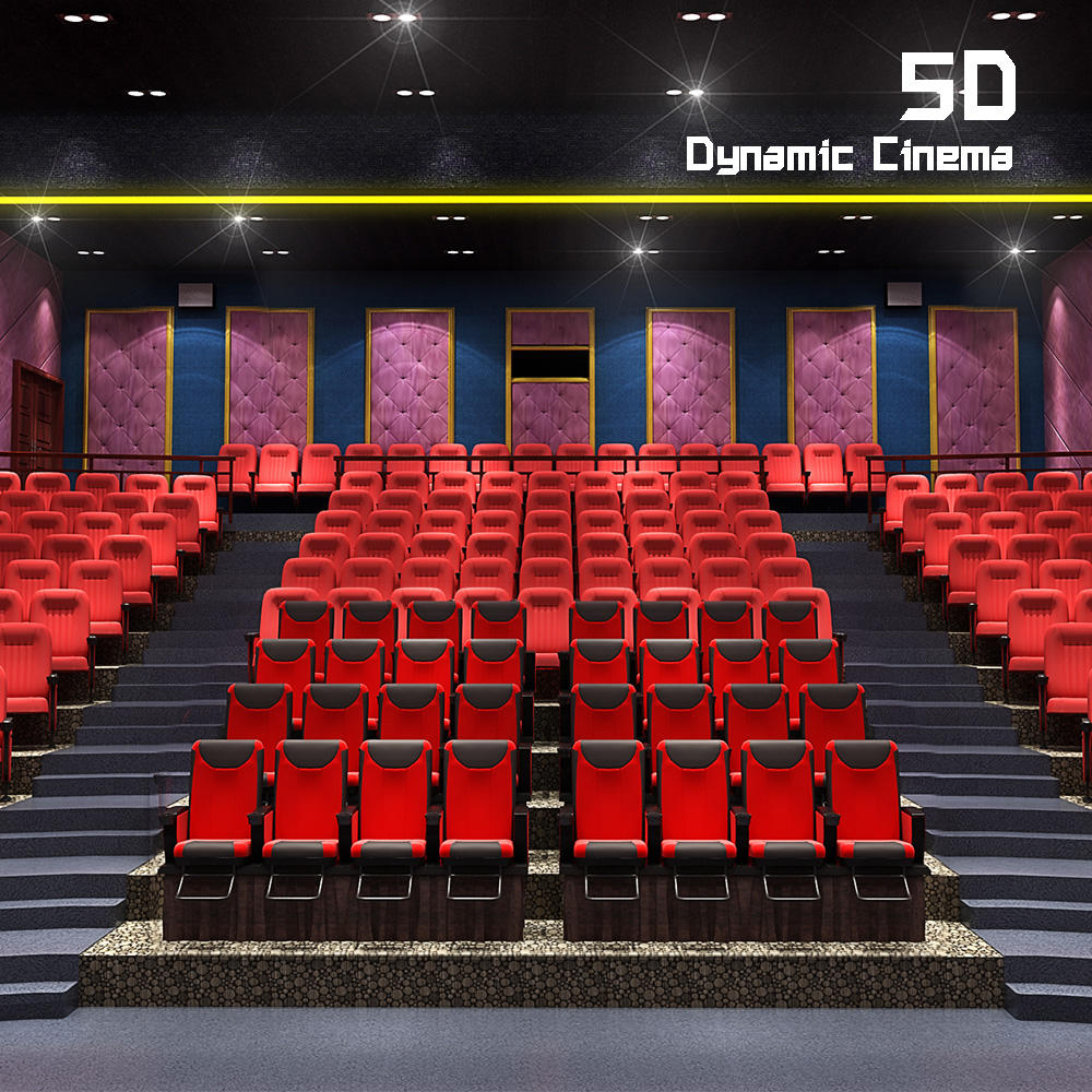 Korea 200-300 Seats Fashionable 4d Movie Cinema Chairs 5d Cinema 5d Theater Equipment For Sale