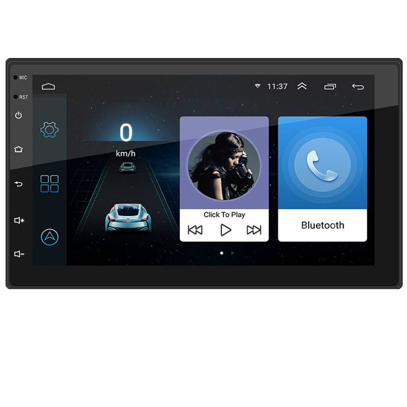 7 inch full touch screen android car stereo with Wifi GPS Navigation car radio 2 din