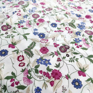 printed new spring laster design high quality ity spandex floral print knit fabric