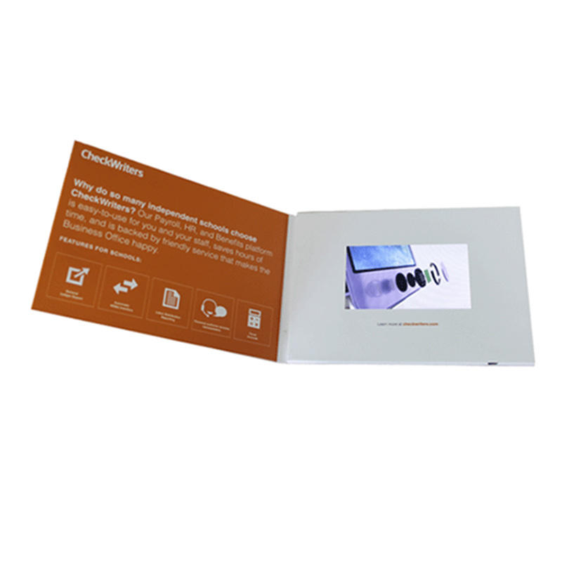 Presentations Digital Advertising Player 5inch new video greeting card video brochure cards