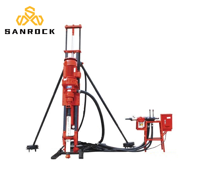 SRQD 70 DTH Water Well Drilling Rig for Rock Drilling