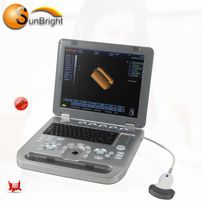 2019 new Clinical professional 3D laptop diagnostic ultrasound