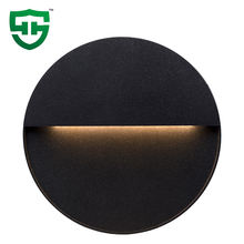 Modern design minimalistic step light outdoor ip54 waterproof surface mounted 2W 3W led wall light