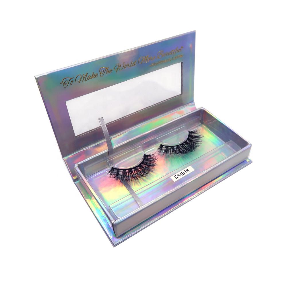 Worldbeauty Best silk faux mink strip fake eyelashes 3D false eye lashes wholesale
