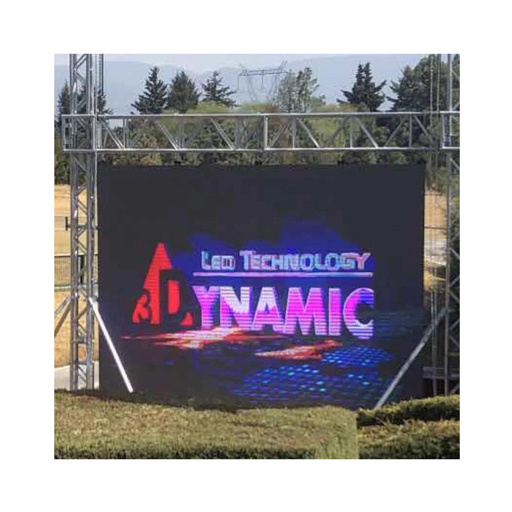 High Quality Outdoor Billboard Digital Advertising Equipment Full Color RGB HD LED Display Board