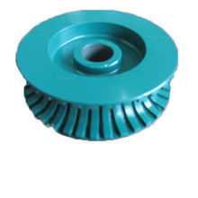 super quality Wanlong stone diamond grinding wheel, bullnose cutting wheel for stone