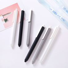Extra Fine Point Pens 0.35mm Black japanese Office School Stationery Supply Pen Gel Ink