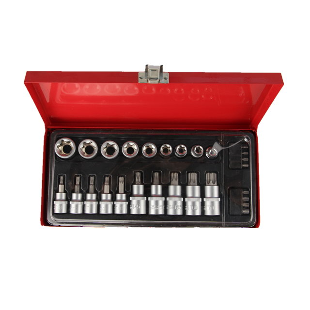 Auto Repair Toolbox Set Car Repair Socket Wrench Universal Multifunctional Bit Set Sleeve Combination socket tool box