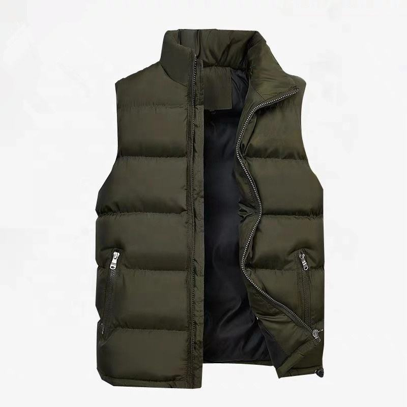 China factory supply mens warm down vest winter outdoor fashion down vest