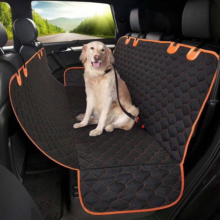 Wholesale Pet Products Hammock Dog Car Seat Cover , Pet Car Seat Cover
