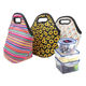 RTS Wholesale Price Sunflower Serape Print Lunch Tote Bag Neoprene Thermal Food Lunch Cooler Bag