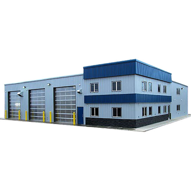 china factory New products prefab modern steel structure workshop building