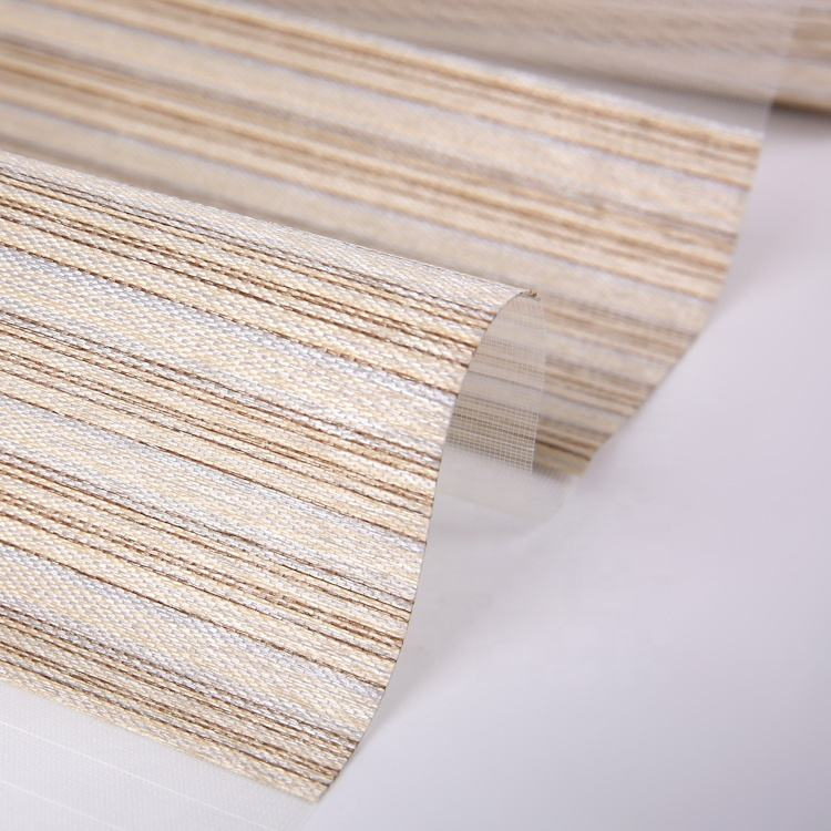 Manufacturer selling white blackout zebra blind for window blinds