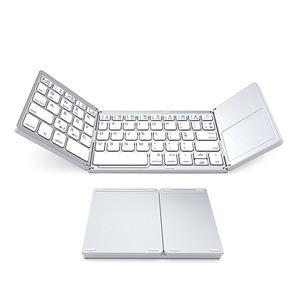Desain Fashion Portabel Komputer Wireless Mobile Mouse Keyboard Combo