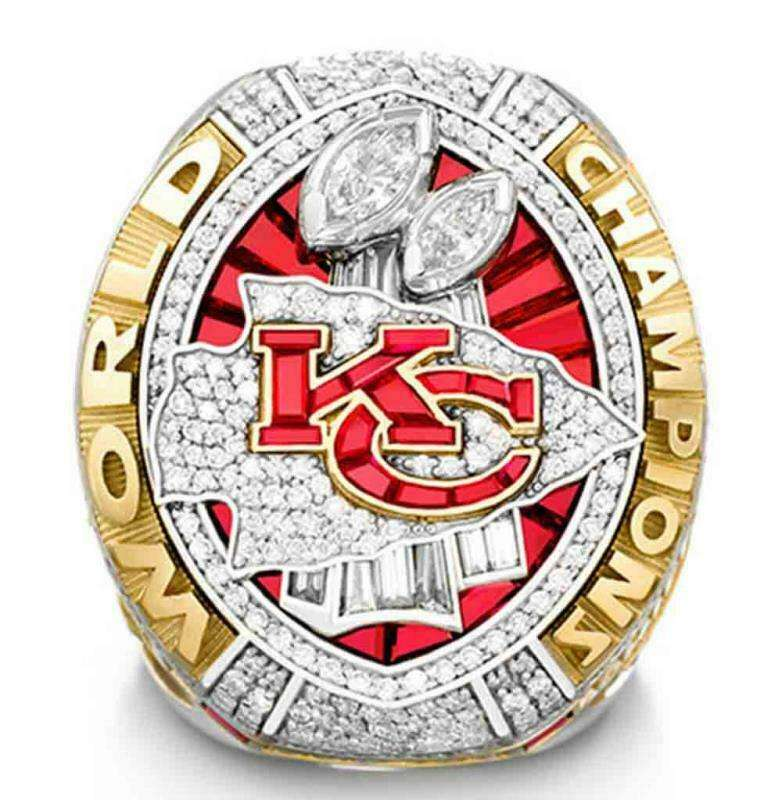 2019 2020 NFL Kansas City Chiefs Championship official NFL rings NFL sports Charms for rings