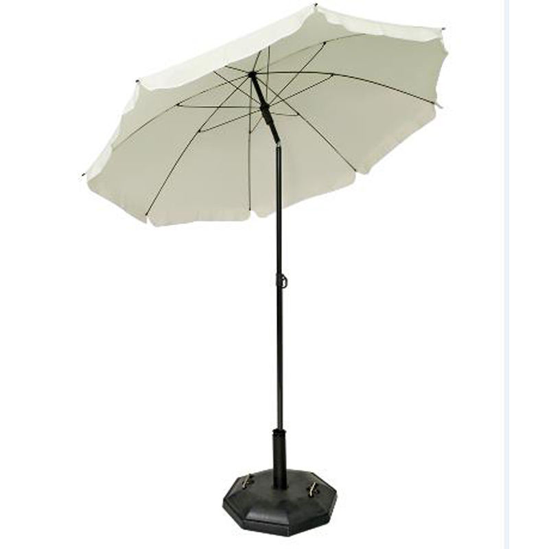 Promotional Multi-colors DIA180CM Polyester Beach Umbrella With Tilt