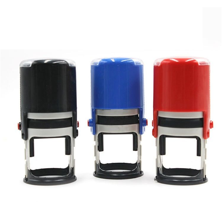 Custom Logo Design Personalize Self-Inking Stamper for Card office paper craft stamp