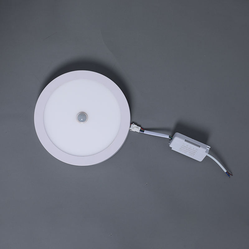 Motion sensor led light panel 18W Surface led panel light 20x20