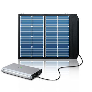 2020 Portable Solar Power Bank 27000mAh Backup Battery Pack with AC 110V, USB-C, USB and DC12V