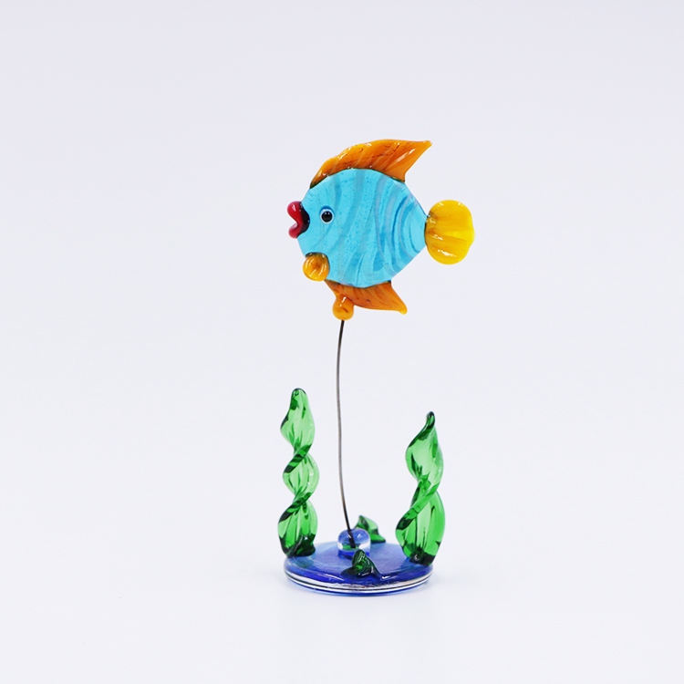 Lampwork Murano Glass Aquarium Fish