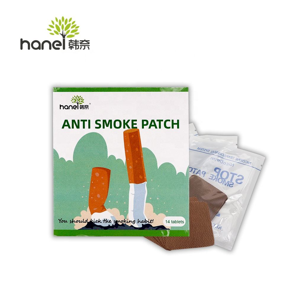 OEM/ODM Anti Smoke Patch with Natural Ingredient Quit cessation sticker how to get rid of smoking with natural aid