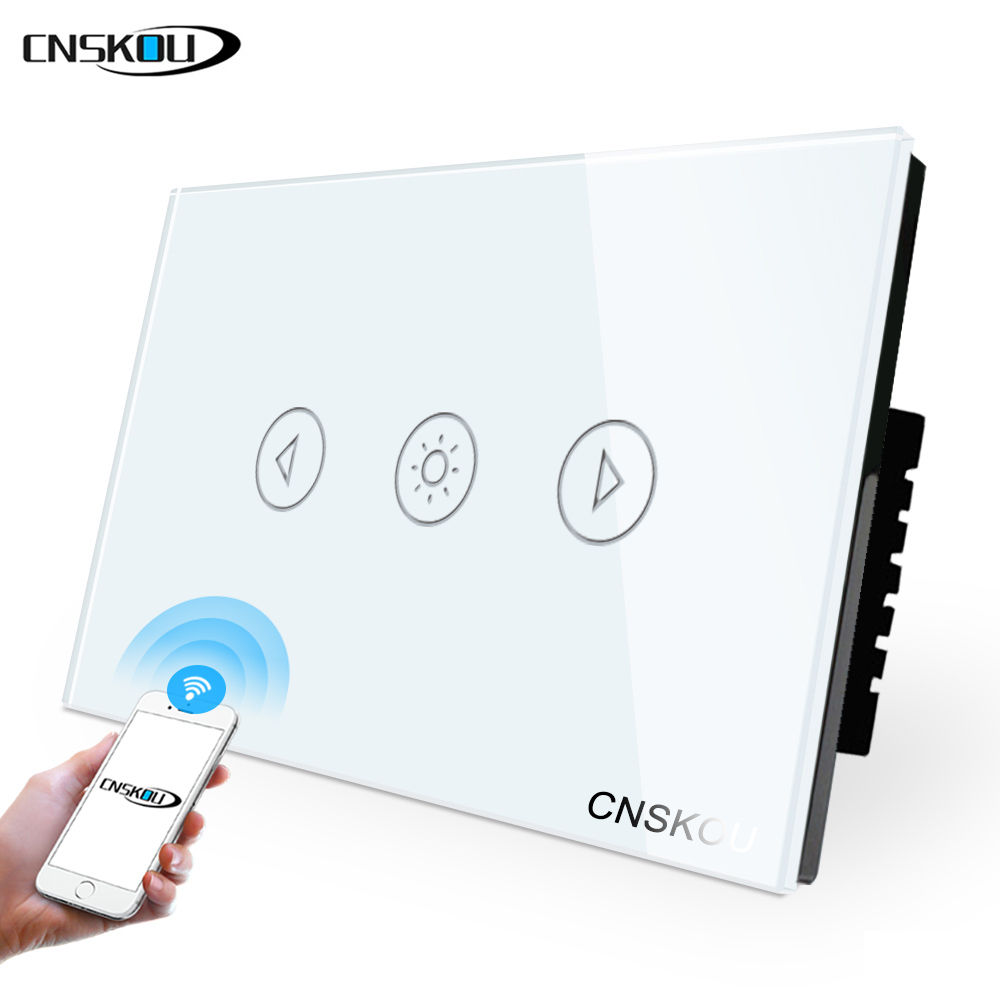 Cnskou AU/US Kontrol Wifi Home Automation <span class=keywords><strong>Dimmer</strong></span> <span class=keywords><strong>Switch</strong></span> Wifi LED <span class=keywords><strong>Dimmer</strong></span> Smart Wall <span class=keywords><strong>Switch</strong></span>