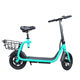 New design personal transport 2 wheel electric mobility scooter 350/500W Brushless Motor with seat for adult