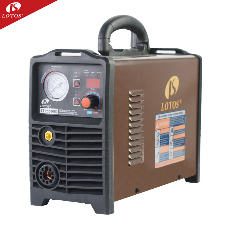 Lotos LTP5500 Non HF cutter plasma IGBT DC inverter metal cutting machine110/220vac igbt cnc plasma cutter cut 70 220v