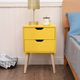 New color fiesta night stands bedroom furniture easy assembly