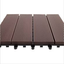 china manufacture wpc Wood plastic composite flooring decking tiles