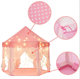 Princesa Princess Castle Tent Tent Kids Indoor Children Castillo Princesa Princess Girls Large House Indoor Kids Castle Play Toy Tent With LED Lights