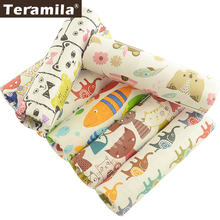 High quality 100% cotton fabric fat quarter bundles tissue cover bag cotton printed fabric for mask sewing