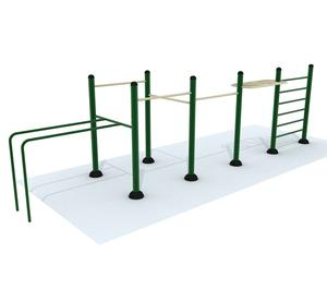 Outdoor gymnastics street fitness gym workout exercise machine equipment sets