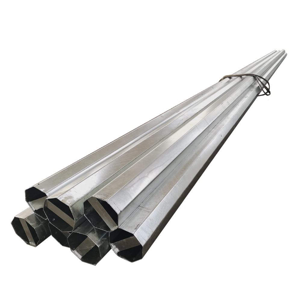 galvanized steel traffic signal lighting pole