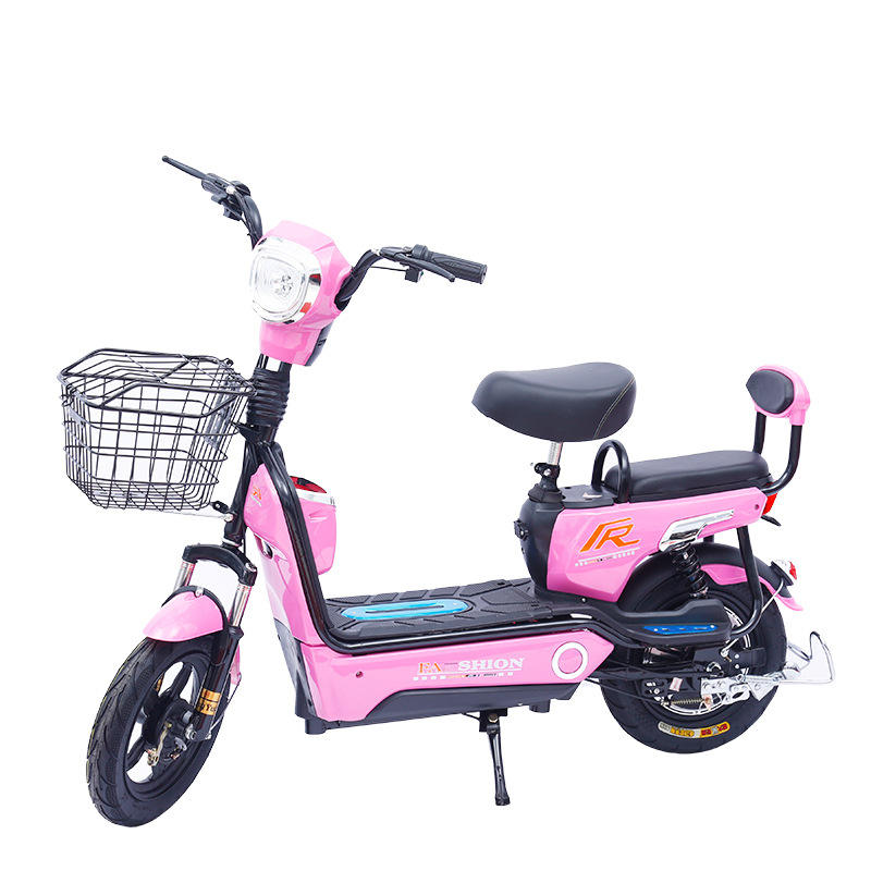 2020 Newest 350W Bike Long Range 55KM Electric Bicycle 14 inches Cheap China 48V Bicycles for Sale Electric Bike