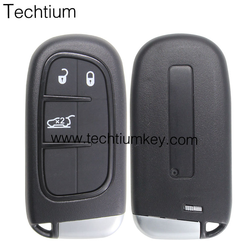 3 button with trunk frequency keyless remote key for chrysler wireless remote exit button