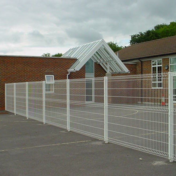 Galvanized 3D Welded Wire Mesh Fence Panel