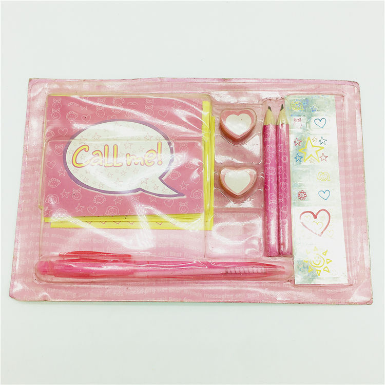 Sweet hotsale stationery promotional stationery set kids stationery gift set
