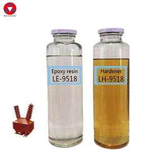 9518 outdoor liquid epoxy resin of encapsulation resin with bulk epoxy resin