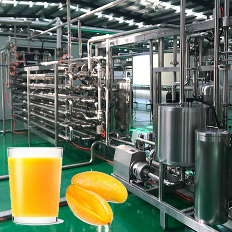 Mango juice fruit extractor processing plant machine production line