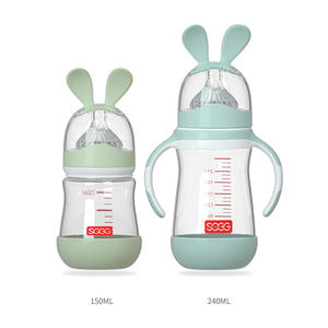 Anti-colic wonderful Glass Feeding Biberon for Baby