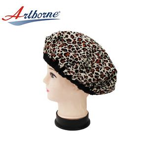 Cordless Therapy Conditioning Microwavable Hair Care Treatment Heat Flaxseeds Hat Cap Bonnet