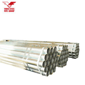 large diameter cs bs1387 class a b c galvanized steel pipes g i pipe