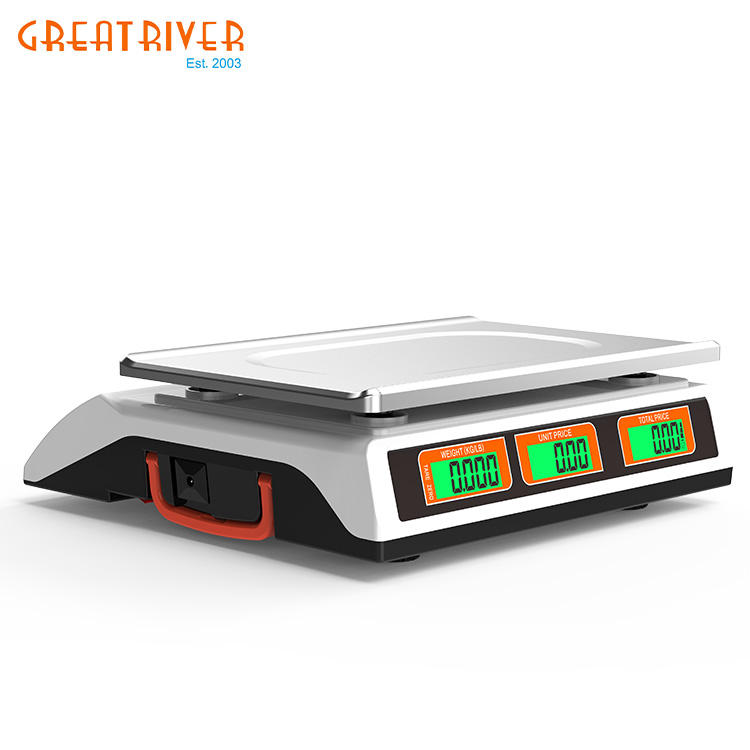 Weighing price Scale Electronic Balance Sensor New White Oem Power Battery Digital Luggage Scale Weigh Loss