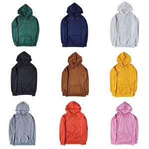 14 colors wholesale oem logo custom embroidery plain blank unisex cheap promotional polyester hoodies men's hoodie