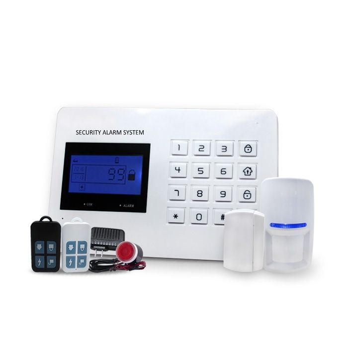 Factory Direct Sale Hottest French Spanish Russian Chinese language Optional Dual Net GSM & PSTN Wireless Alarm System